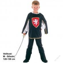 Dětský karnevalový kostým MUŠKETÝR PORTOS 120 - 130cm ( 5 - 9 let )